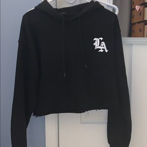 Cropped Forever 21 hoodie